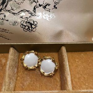 Trifari vintage clip earrings